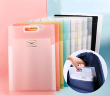 Folder Multilayer Student Receive Bag With Small Fresh Organ Data A4 Test Paper