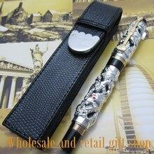 High quality pen black ballpoint pen + sent tow refill Office writing gift pen free shipping цены онлайн