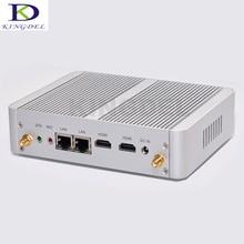Без вентилятора Mini PC HTPC Настольный компьютер Intel Celeron N3150 Quad Core/Celeron N3050 Dual Core, Двойной HDMI + LAN, wifi, DHL Бесплатная доставка