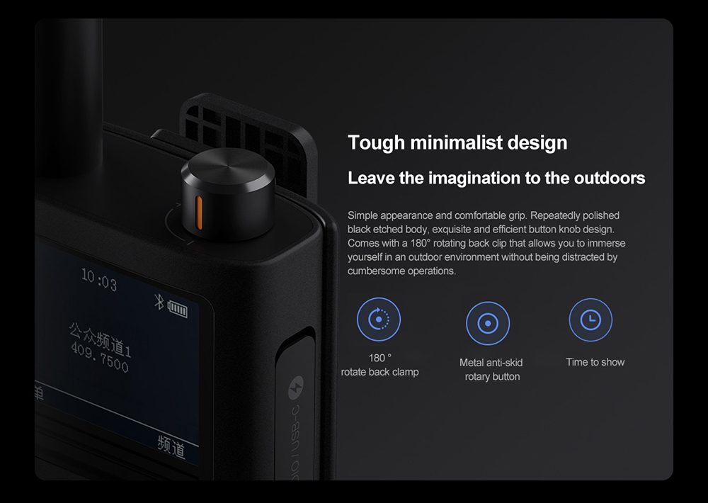 XIAOMI IP65 Walkie-talkie Waterproof 6