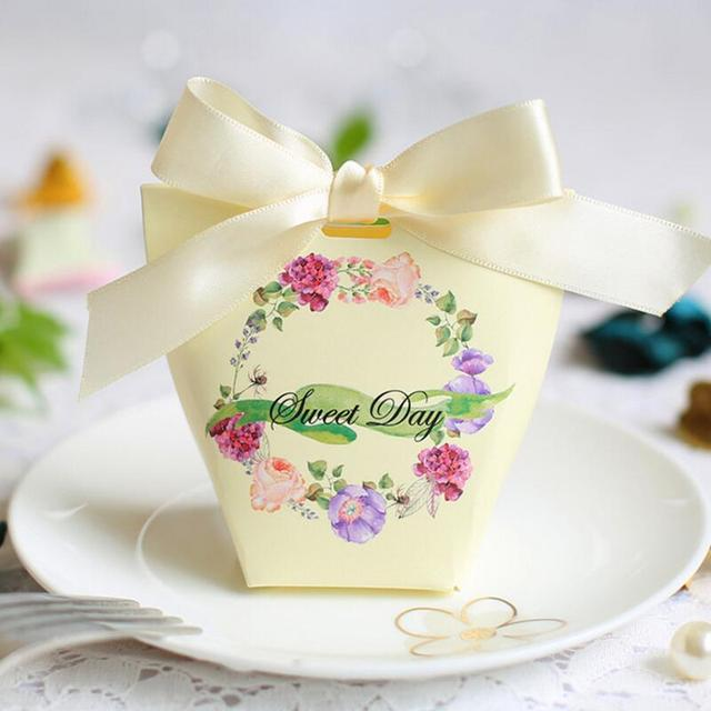 Personality Creative Wedding Favor Gift Bag Party Mini Candy Box Wholes Event Supplies 20pcs