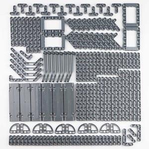 Image 5 - Technic Parts mattoni pin Liftarm senza perno fascio assale connettore pannello gear Car giocattoli hakstorm blocchi compatibili set sfusi