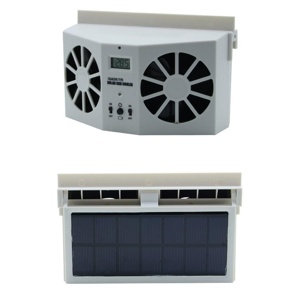 Solar Powered Car Air Vent Cool Fan Ventilation System Exhaust Fan Summer Cooler