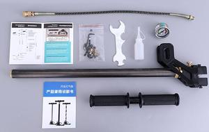 Image 3 - Fast Delivery Top Quality High Pressure 3 Stage PCP Car Mini Hand Operated Air Pump Hunting PCP pump 300bar 30mpa 4500psi