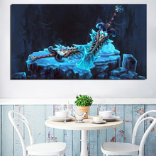Frost Death knight World Of Warcraftes Canvas Painting Prints Bedroom Home Decoration Modern Wall Art Posters Picture