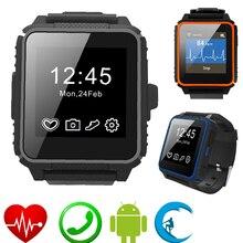 Sport Smart Armbanduhr Wasserdicht W08 Schwimmen GSM Sim-karte Smartwatch Intelligente Uhr Inteligente Pulso Für iOS Android Männer