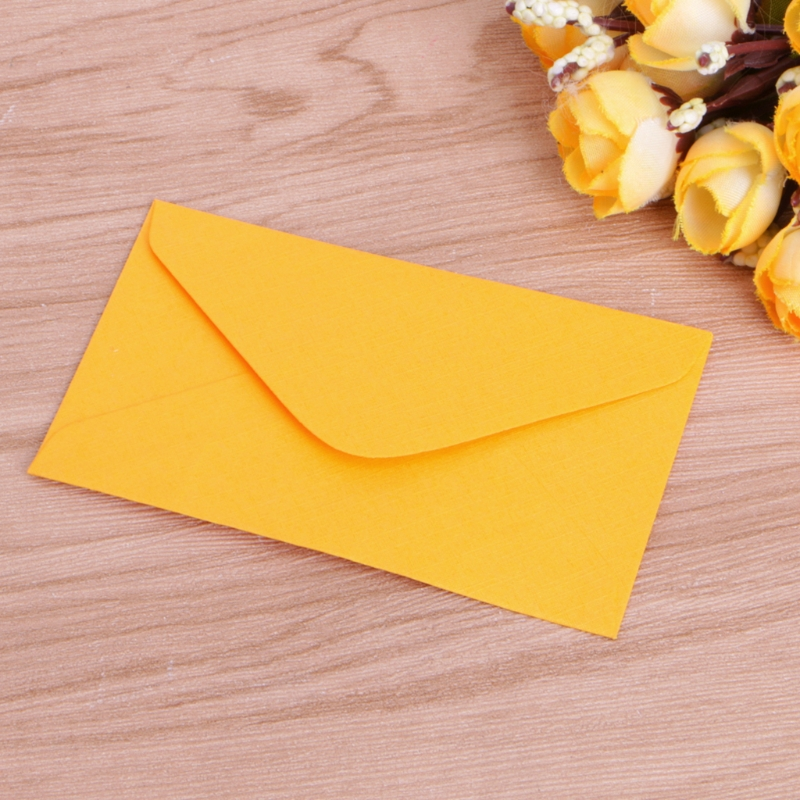 50 Pcs Retro Blank Mini Paper Envelopes Wedding Party Invitation Greeting Cards Gift 4