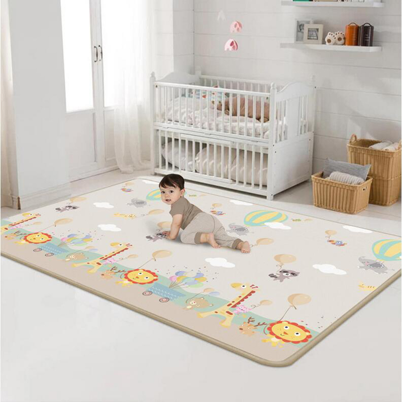 180*200cm Baby Crawling Play Mat Fun Environmental Protection Carpet Kid Educational Odorless Game Blanket For Children Activity