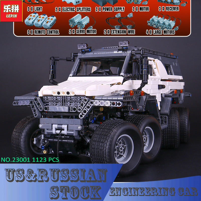 2017 New LEPIN 23011 2959 Pcs Technic Series Off-road vehicle Model Building Kits Block Bricks Compatible Toys lepin 22001 pirate ship imperial warships model building block briks toys gift 1717pcs compatible legoed 10210