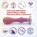 customize Wax Seal Stamp logo Personalized image custom sealing wax sealing stamp wedding Invitation Retro antique stamp custom