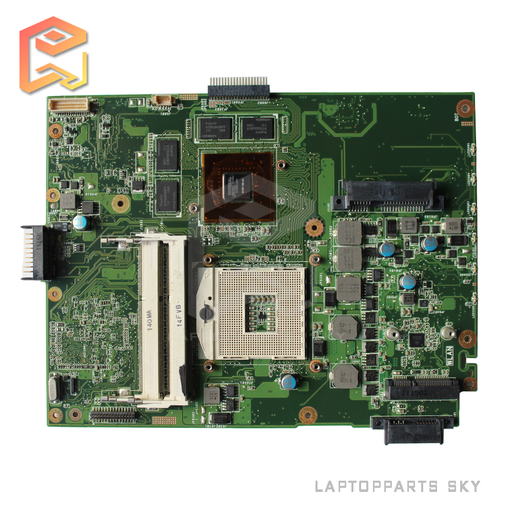 Original laptop motherboard for ASUS K52JV mainboard REV:2.2 Nvidia GT540M 2GB fully tested works good with warranty 60 days for msi ms 10371 intel laptop motherboard mainboard fully tested works well