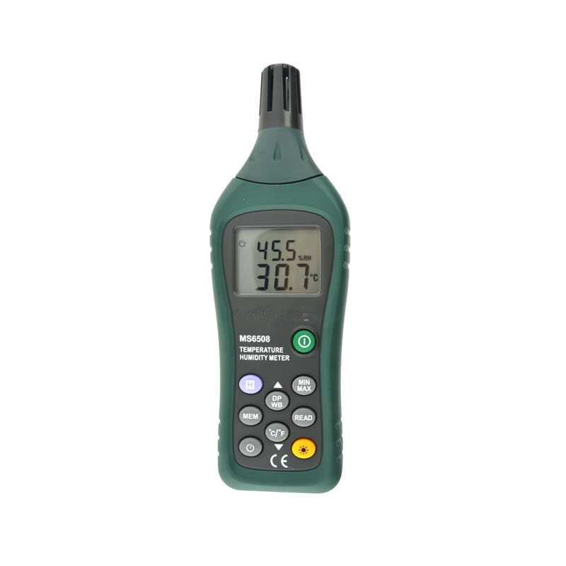 Hot Sale High Sensitive Accuracy Digital Industrial Grade Hygrometer MS6508 Portable Thermometer Temperature Humidity Meter hot sale professional high accuracy digital humidity temperature bth01 usb data logger recorder thermometer hygrometer led alarm