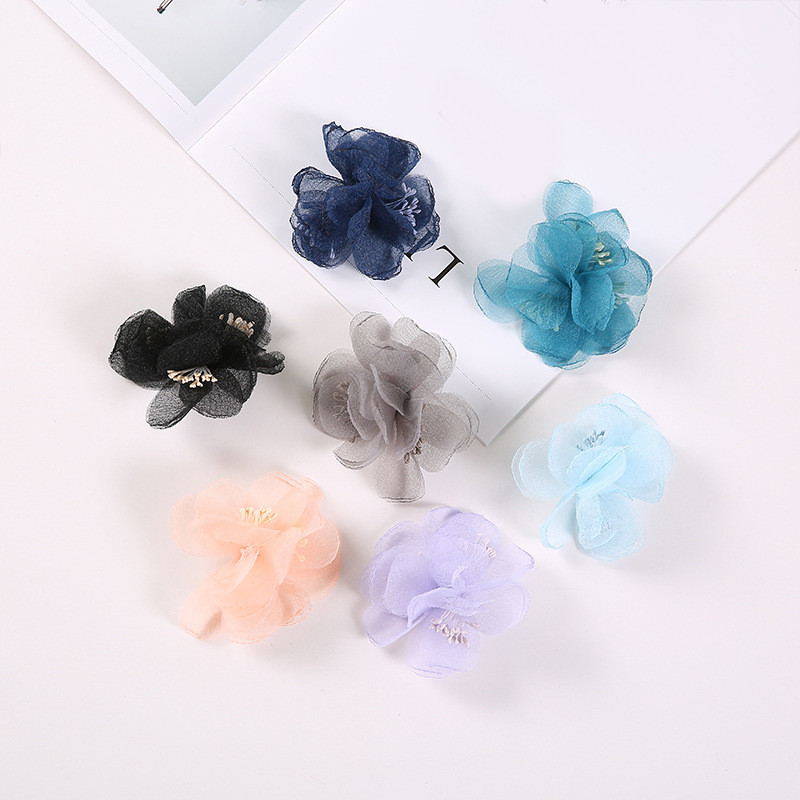 20 Pcs Satin Cloth Gauze Flowers Connectors Diy Handmade Headwear Accessories For Jewelry Making Back To Search Resultsjewelry & Accessories Beads & Jewelry Making