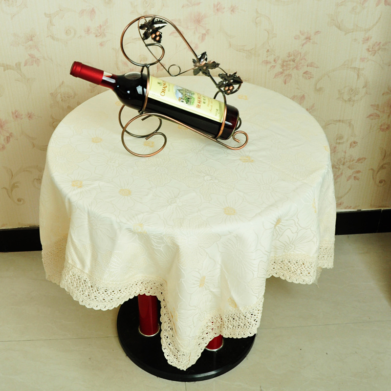 Online Get Cheap Round Lace Tablecloths Aliexpresscom Alibaba
