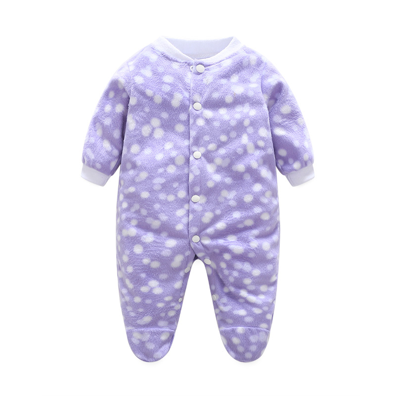 hahaxuxi Winter Newborn Clothes Baby Boy Romper Infant