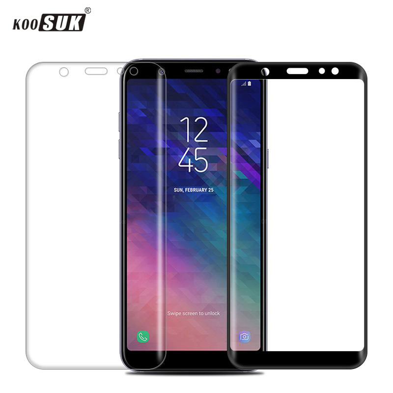 A6 Glass For Samsung Galaxy A6 2018 Screen Protector 9H Phone Protective Film for Samsung A6 Plus 2018 A6+ Phone Tempered Glass