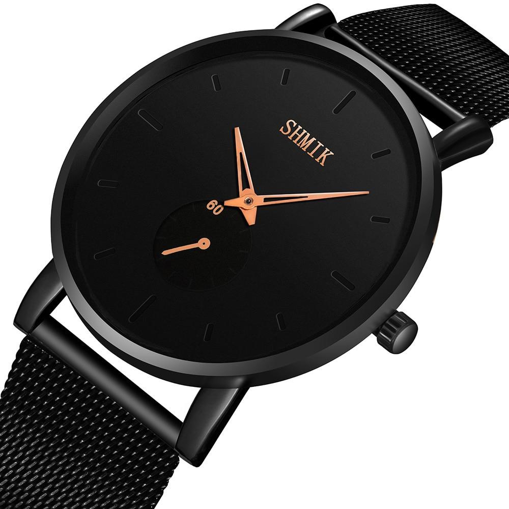 Luxury Mens Watches Ultra Thin Wrist Watches For Men Fashion Quartz Watch Men Casual