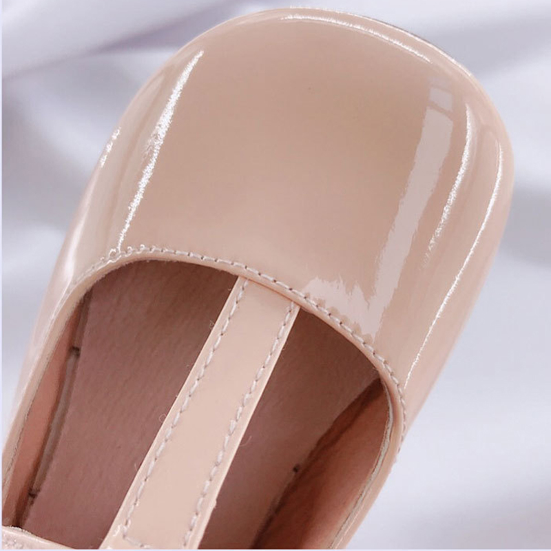 Image 5 - Fashion Girls Leather Shoes Candy Color Baby Girls Princess Shoes For Wedding Birthday Party Girls Patent Leather Shoes-in Leather Shoes from Mother & Kids