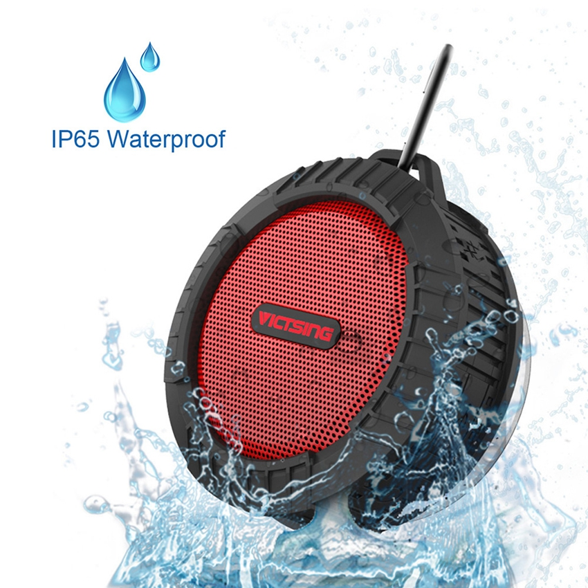 Victsing Waterproof Wireless Bluetooth Speaker Mini Sport ...