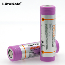 2 pcs. 100% new Liitokala original for samsung INR18650 30Q 3000 mAh battery INR18650 lithium battery rechargeable battaries