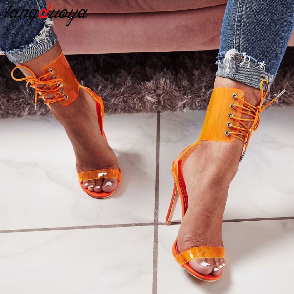 transparent women shoes stiletto high heels sandals women shoes open toe pumps women shoes high heel ankle strap zapatos mujertransparent women shoes stiletto high heels sandals women shoes open toe pumps women shoes high heel ankle strap zapatos mujer