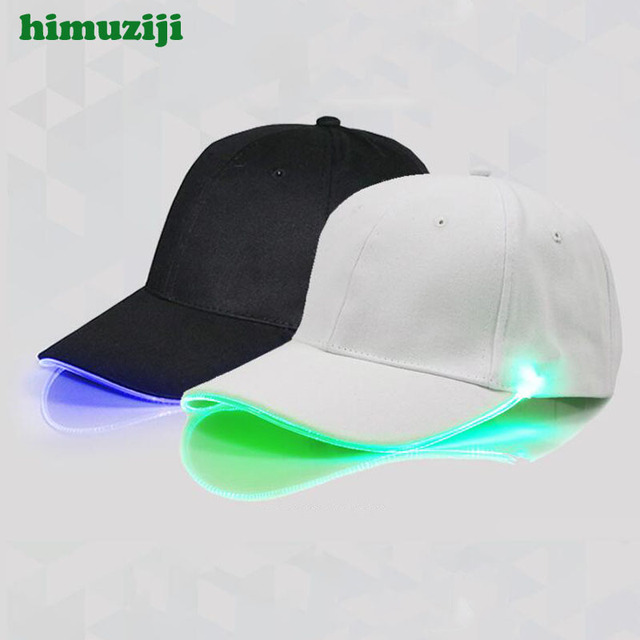 1f9777fb94c 2018 New LED Light Cap Hat Team Valor Baseball Cap for Women Mens Fitted  Hats Glow In The Dark Novelty Adjustable Solid Hats