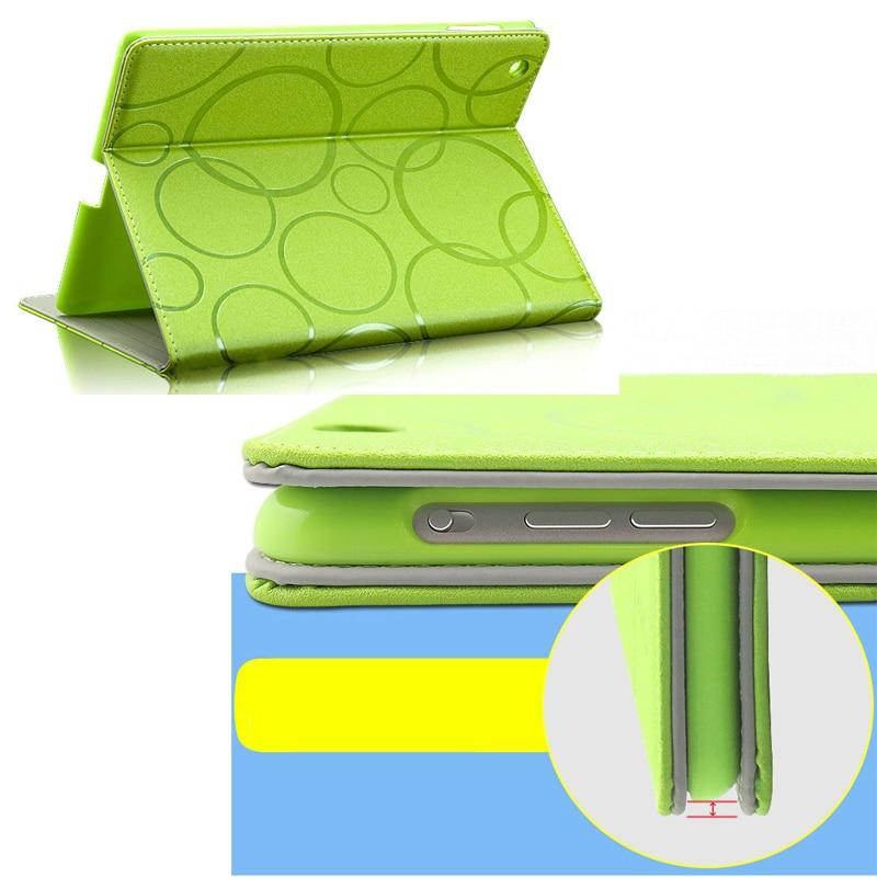 Fashion Brand KAKU Fresh Series PU Leather Smart Flip Case For Apple iPad Air 2 Ipad 6 Colorful Tablet protective Cover