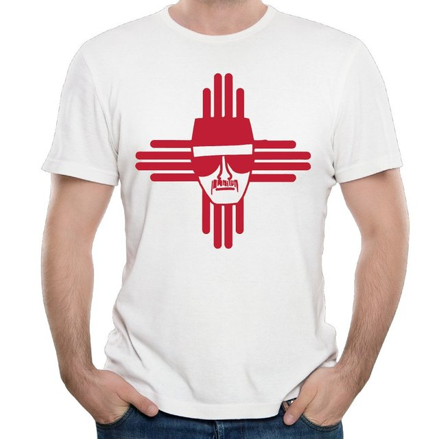 Heisenberg Zia Symbol New Mexico Casual Mens T Shirt In T Shirts