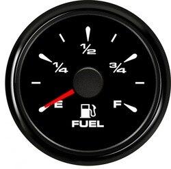 Nowy typ 52mm paliwa samochodowego wskaźniki poziomu 0 190ohm mierniki poziomu paliwa 240 33ohm 9 32vdc paliwo żeglugowe wskaźniki czujnik poziomu jednostka nadawcza|Manometry olejowe|Samochody i motocykle -