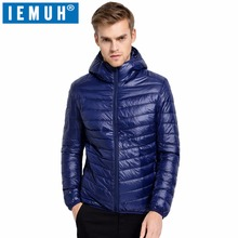 IEMUH Casual White Duck Down Jacket Men Autumn Winter Warm Coat Men's Ultralight Duck Down Jacket Male Windproof Parka Top Brand