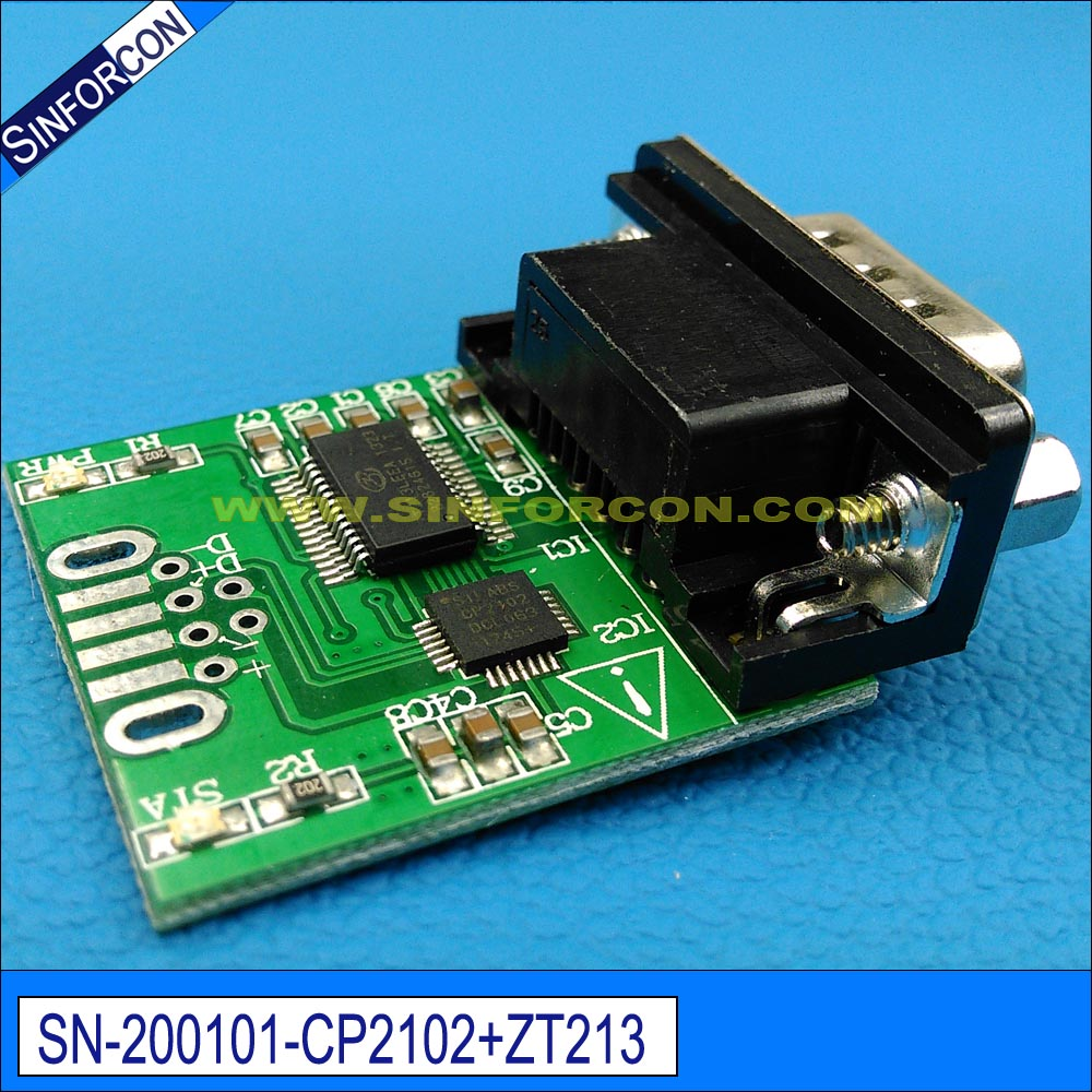 Win10 Sinforcon Cp2102 Ftdi Ft232rl Usb Rs232 Adapter With Pc Db9 Db25 To Cable Schematic Virtual Com Port Full Pinout Usb2rs232 In Computer Cables Connectors From