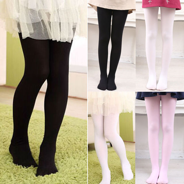 a45c8c65e91a7 PUDCOCO 2017 Newest Hot Children's Ballet Dance Tights Footed Seamless Girls  and Ladies Cotton Stockings NEW