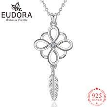 Женское Ожерелье «Ловец» eudora подвеска из настоящего серебра