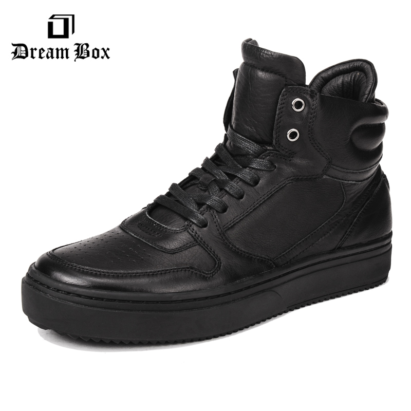 dreambox The Korean version of the Diablo series shoes for men's casual shoes sportswear high shoes the bells of el diablo