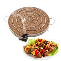 8.27-inch churrasco acessórios gerador de fumaça fria churrasqueira ferramentas de cozimento para fumante sabor chips de madeira grill bacon frio fumar