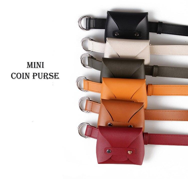 4640fc57a512b •Anreisha Marke Designer Taille Tasche Frauen Hohe Qualität Pu-leder Gürtel  Tasche Frauen Weiblichen Europäischen Stil Brieftasche Halter hüfttasche -  a849