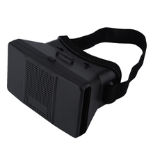 Google Cardboard Virtual Reality VR 3D Glasses 3D Movies Games TV Glasses with Head Strap For 4-6″ Android iOS Mobile Phones