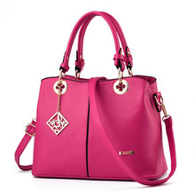 High Quality Women PU Leather Handbag Tote Crossbody Shoulder Bag Purse Satchel Top Handle Bags цена 2017