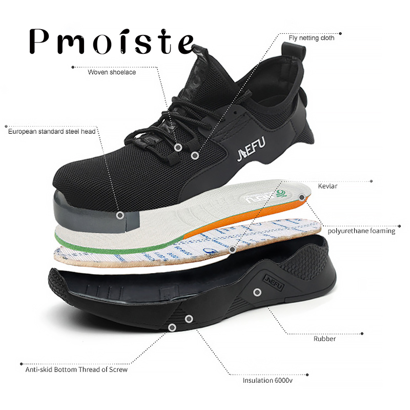 Men 39 s Shoes Summer Wedges Plus Size 45 48 Hard Wearing Safety Shoes For Boys Lace Up Rubber Working Sneakers Man in Men 39 s Casual Shoes from Shoes