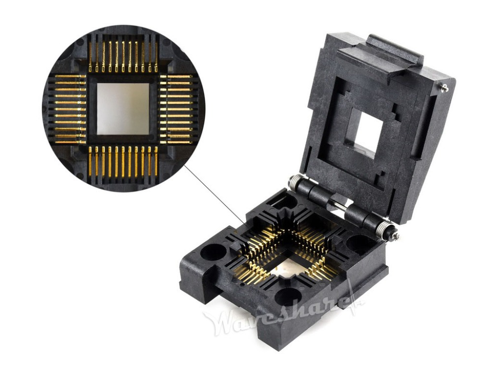 Yamaichi IC Test & Burn-in Socket, for PLCC44 package Pitch: 1.27mm