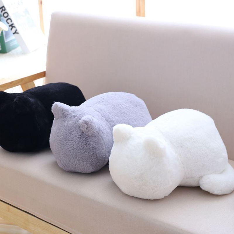 1 Pc Lovely Plush Cat Toys Staffed Cute Shadow Cat Dolls Kids Gift Doll Lovely Animal Toys Home Decoration Soft Pillows