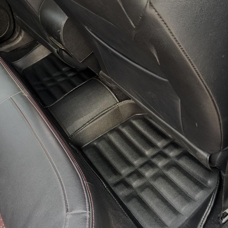 Tapis de sol de voiture tapis tapis tapis de sol accessoires pour audi a3 8l 8 p berline sportback a4 b5 b6 b7 b8 a5 b8 a6 c5 c6 c7 - 6