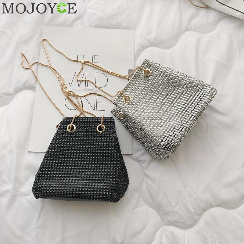Clutch Evening Bag Luxury Women Bag Shoulder Handbags Rhinestone Women Small Crossbody Bucket Bags