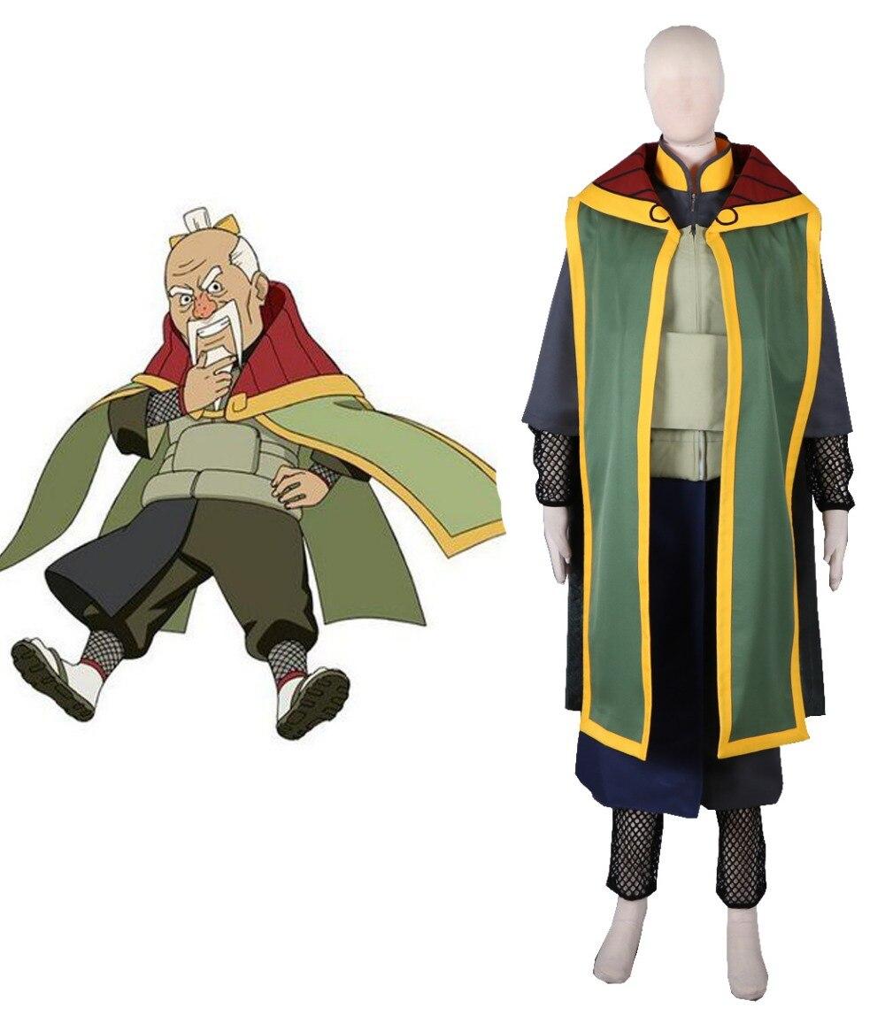 Free Shipping font b Naruto b font Shippuden The Third Tsuchikage Onoki Anime font b Cosplay
