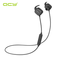 QCY QY12 Active Noise Cancelling Bluetooth Headphones Wireless Sports Earphones Magnet Switch Earbuds With Microphone