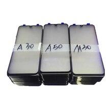Для samsung Galaxy A10 A20 A30 A40 A50 A60 A70 A80 A90 Внешний ЖК-экран Переднее стекло объектив Запасные части