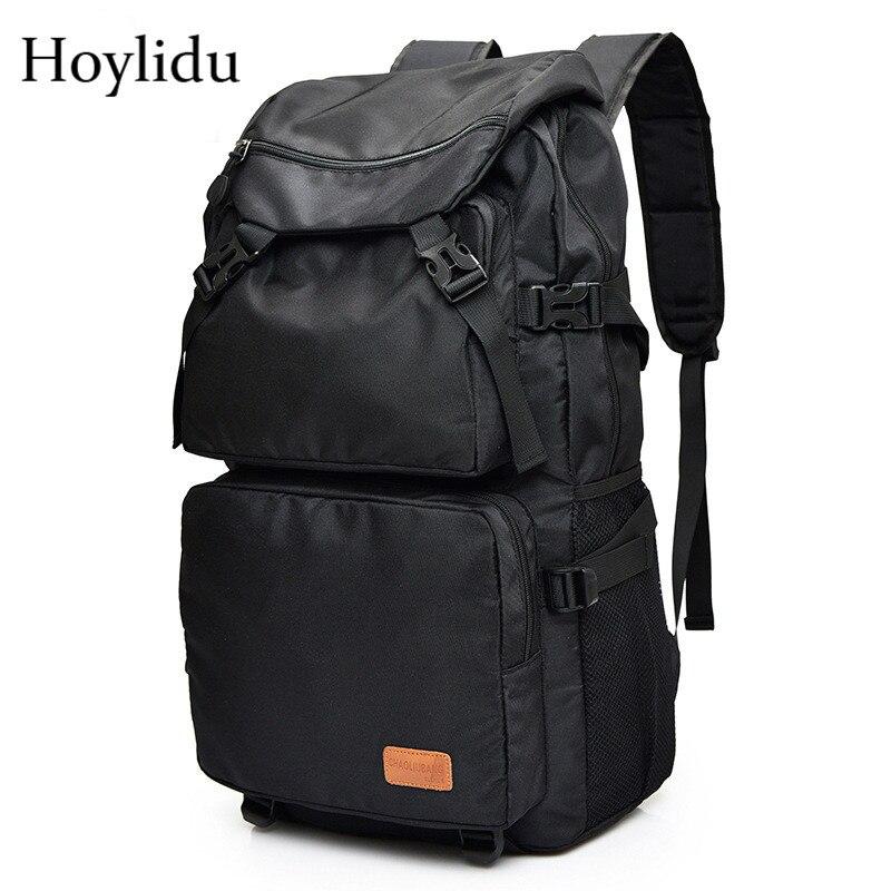 Unisex Waterproof Oxford 16-inch Laptop Backpack Men School Shoulder Bag Casual Multifunction Large Capacity Luggage Travel Bag