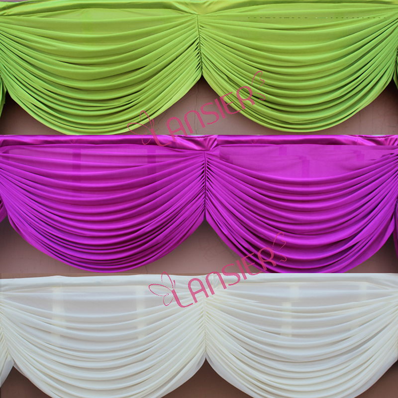 Wedding Drapes Swags For Backdrop Decoration Wedding Swags