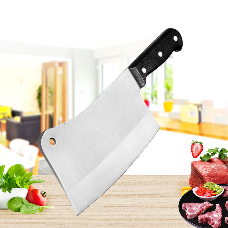 Professional Stainless Steel Chopping Knife Kitchen Chef Slicing Knife Chopping Bone Knives Cooking Tools High Quality