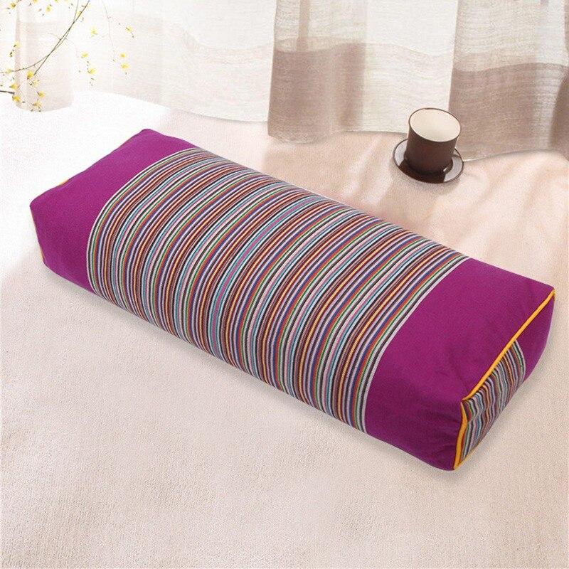 ベストセラーホームホテル用品快適な寝具枕縞模様枕矩形ボディ睡眠枕    グループ上の ホーム